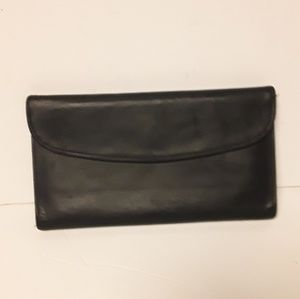 Coach Genuine Leather Trifold Wallet